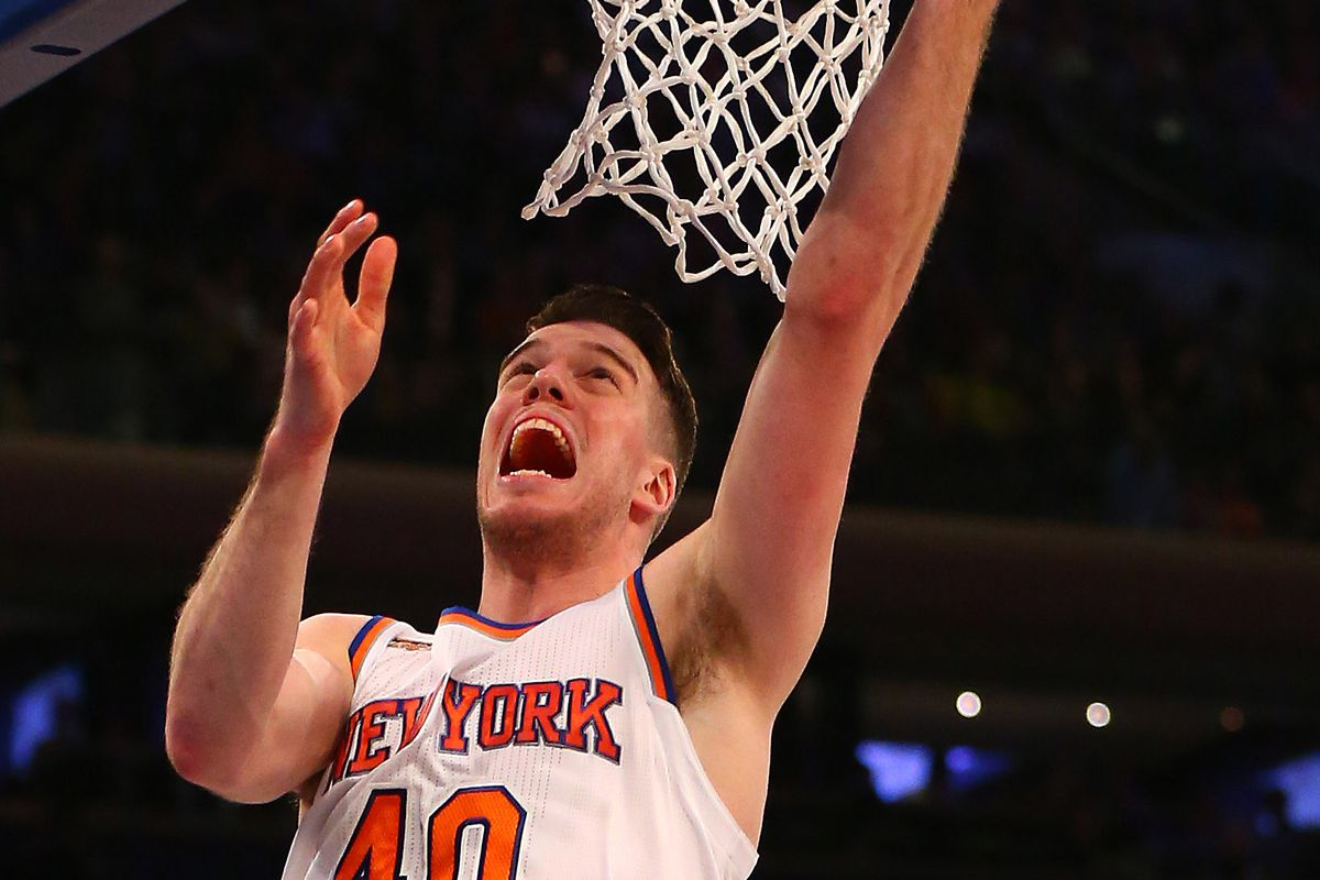 f4c4a63cd4c9 Marshall Plumlee plays pickup game with lesser NBA stars (Carmelo Anthony