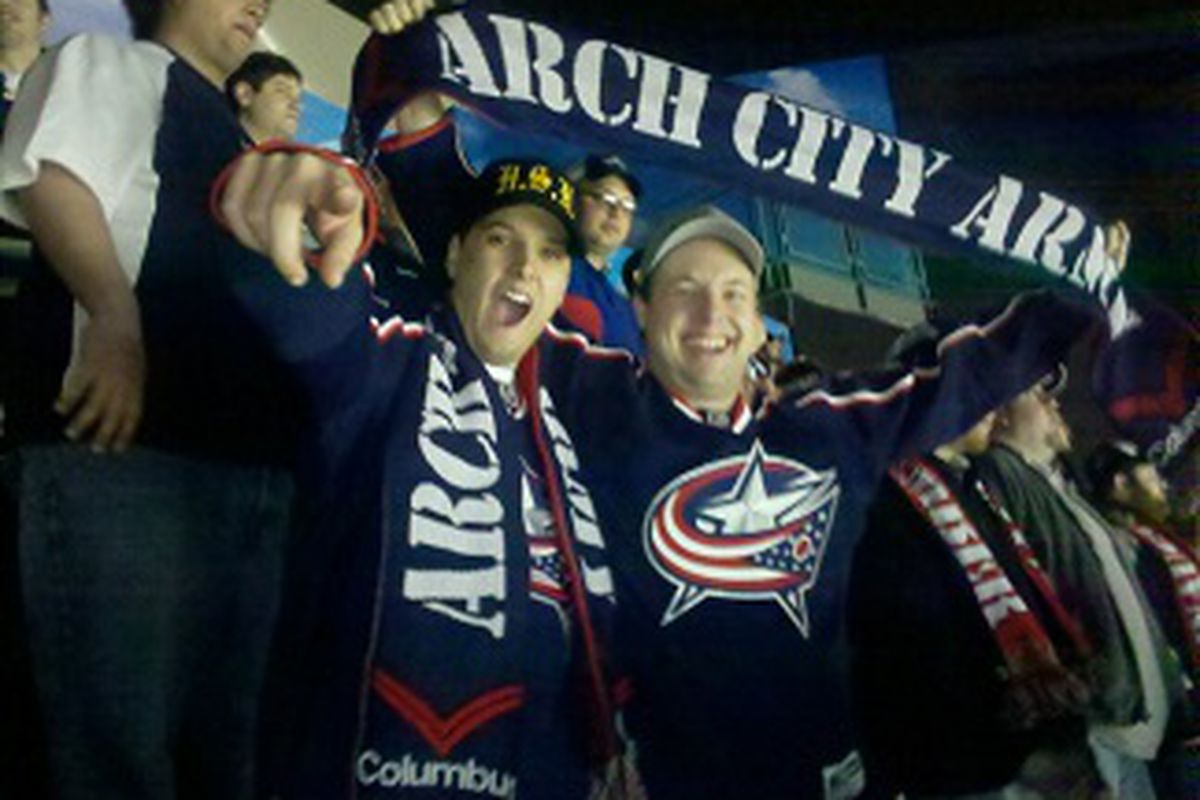 """Like them or hate them, the ACA made a big splash in Columbus last season, and they're here to stay. <a href=""""http://www.archcityarmy.com/"""">Photo courtesy of the Arch City Army</a>"""