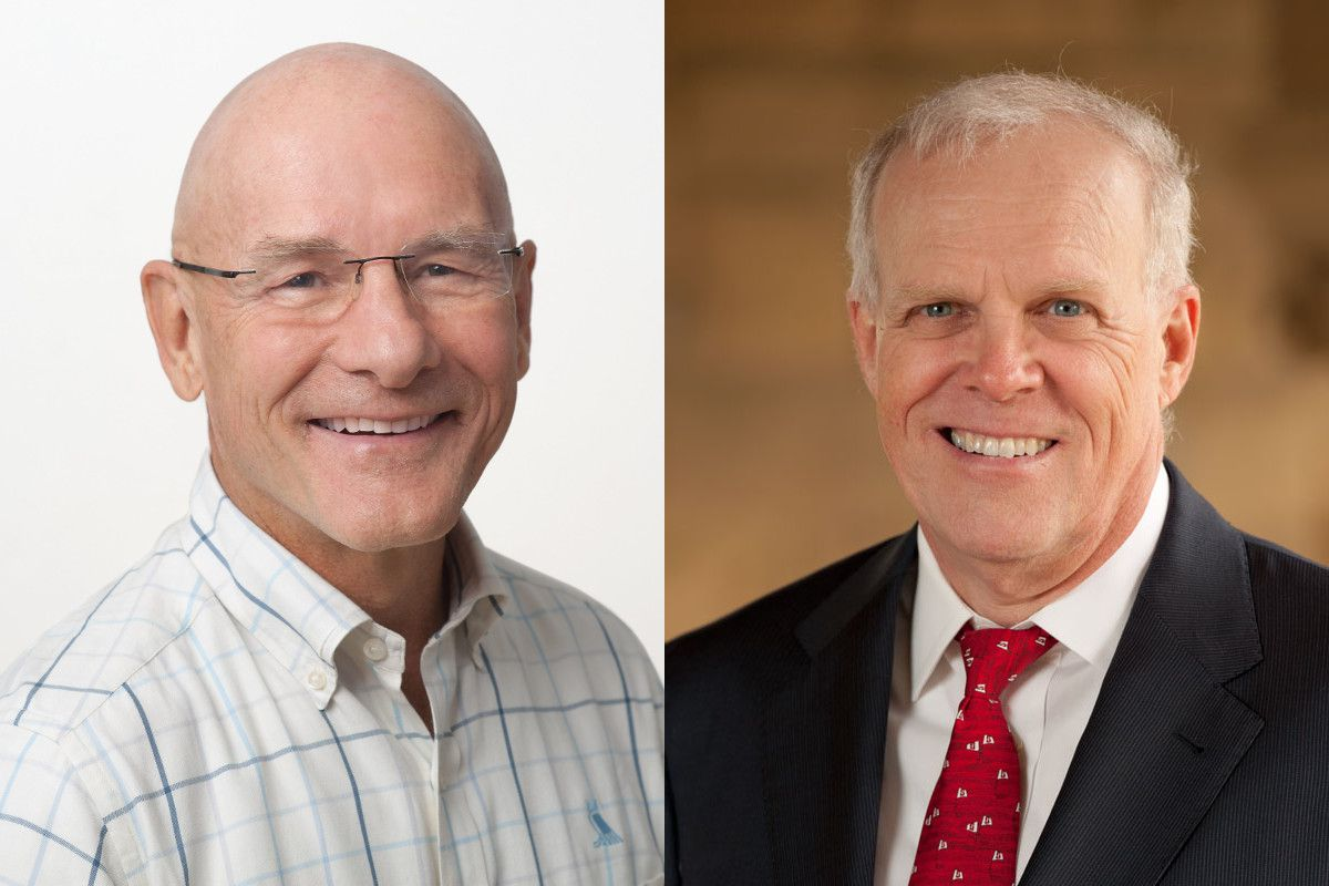 Turing Award winners Dave Patterson and John Hennessy