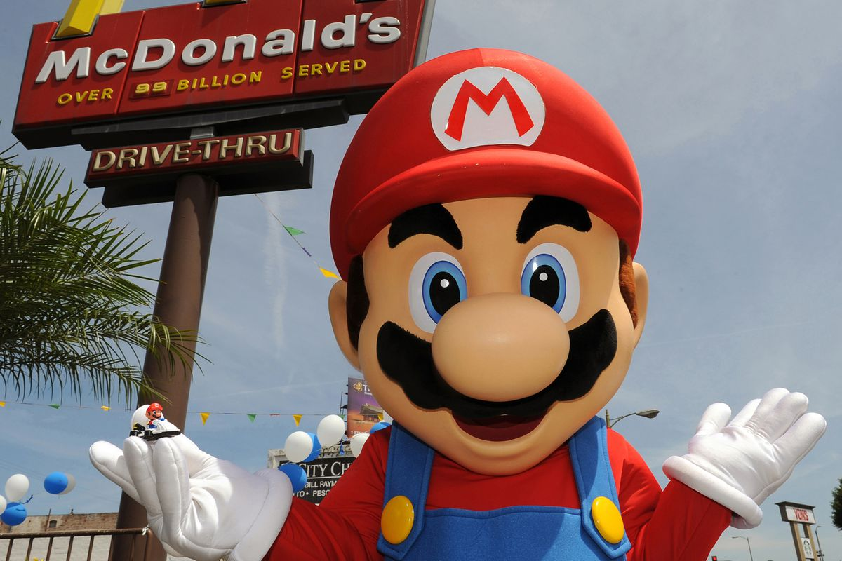 Super Mario Toys Now Available In Mcdonalds Happy Meals