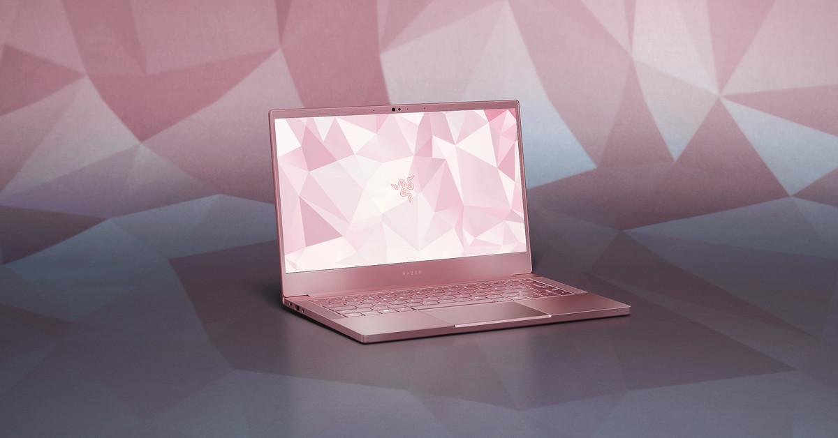 Razer Is Selling Its First Pink Laptop The Verge