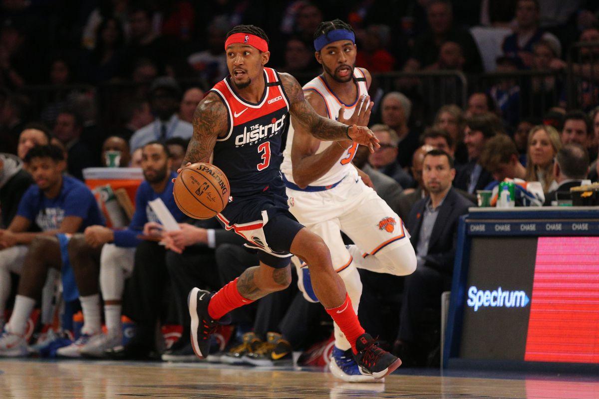 NBA: Washington Wizards at New York Knicks
