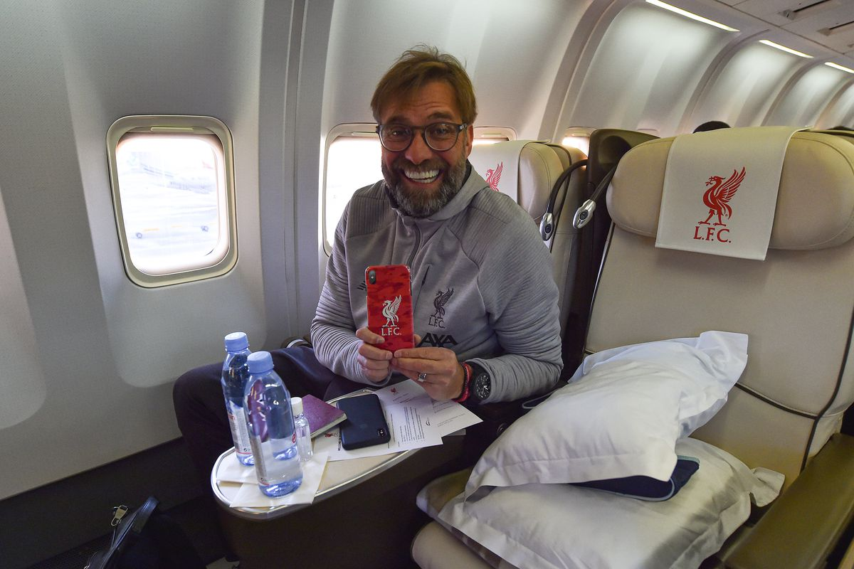 Liverpool Players Travel To Qatar For The FIFA World Club Cup