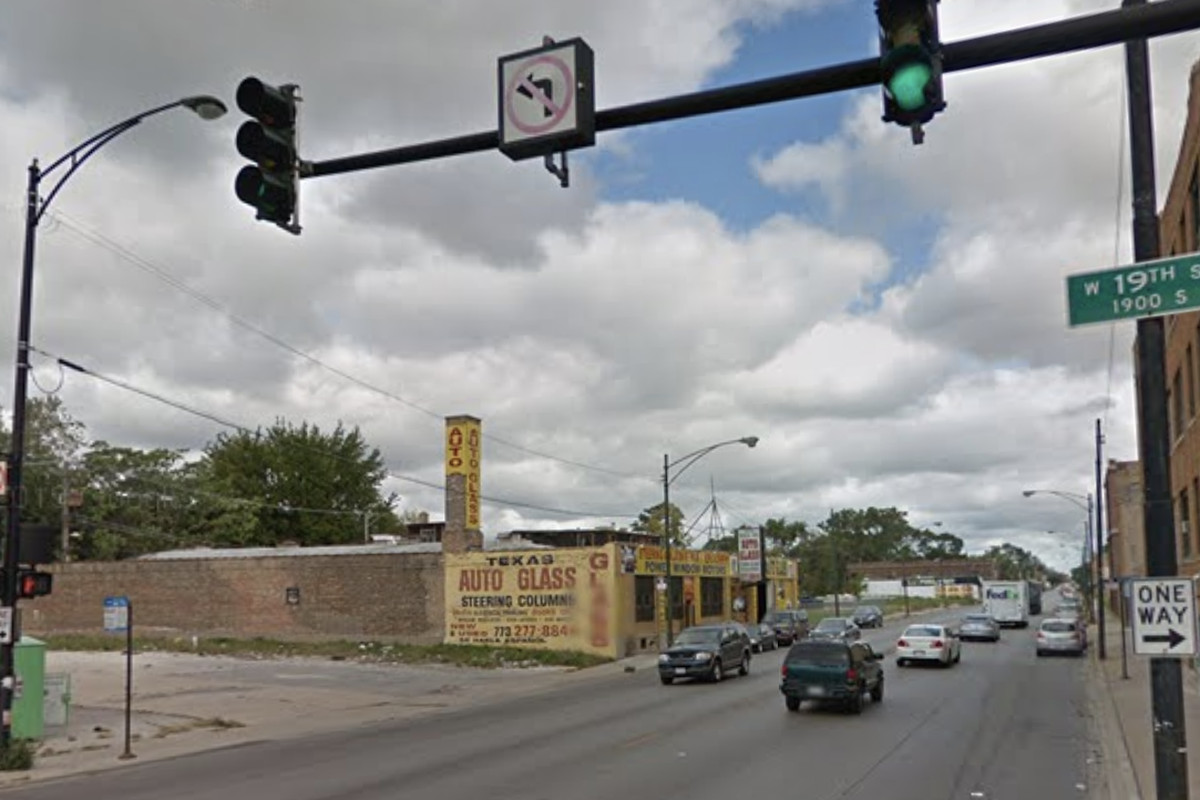 An armed robbery was reported April 21, 2020, in the 1800 block of South Pulaski Road.