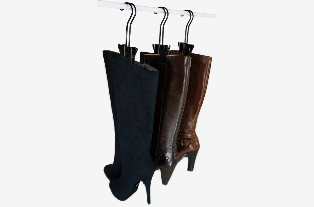 Hangers for boots.