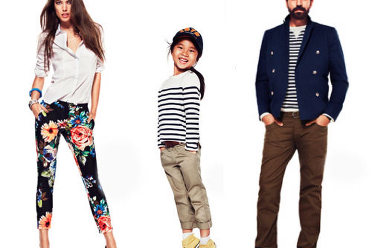 Guess which one of these pants don't cost as much as the others. You're right. Photos via H&M