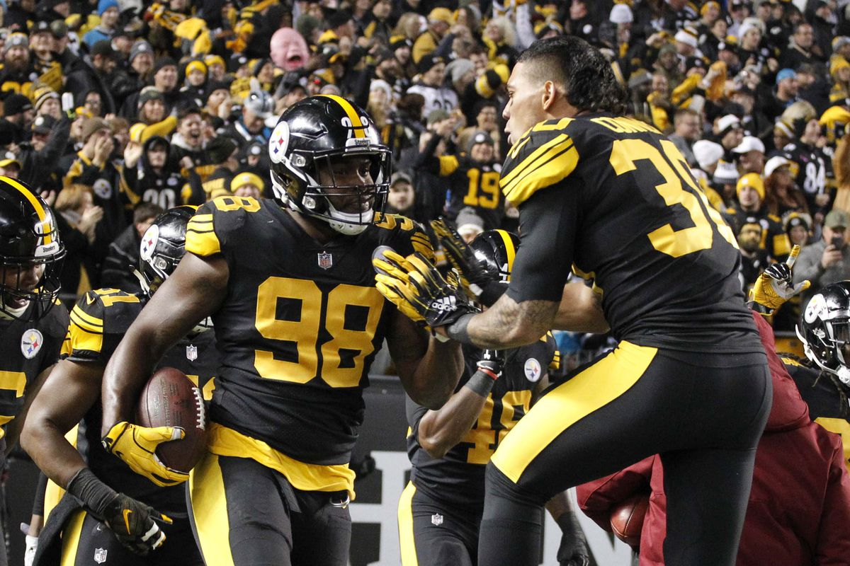 5e70a5c6 12 numbers that show just how much the Steelers kicked the Panthers' butts