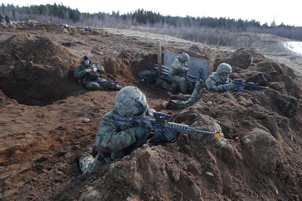 US Troops Participate In Estonia Exercises