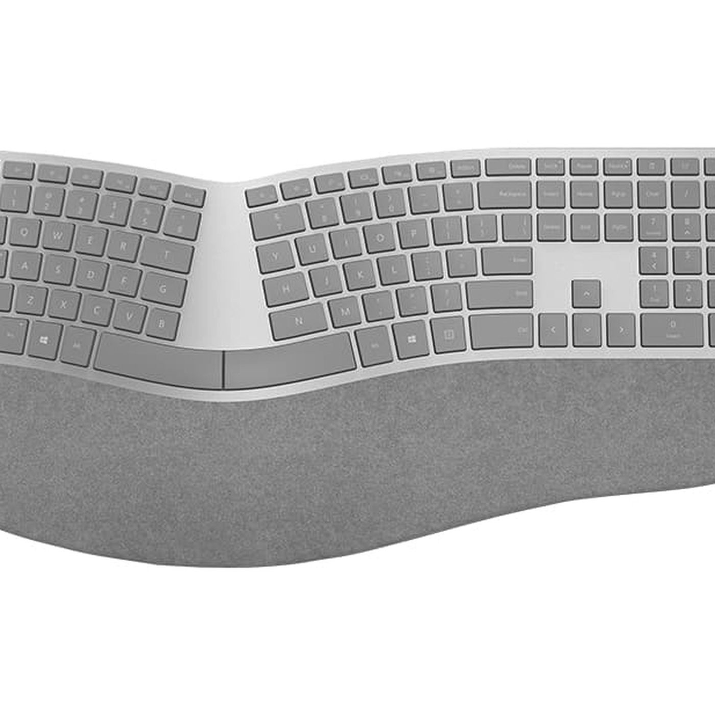 Microsoft S Awesome Ergonomic Keyboard Finally Works Over Bluetooth The Verge