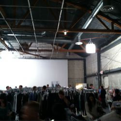 Madness inside the warehouse