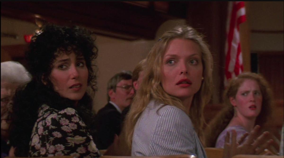 the Witches of Eastwick 1987 ile ilgili görsel sonucu