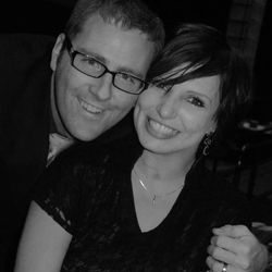 """Meg Johnson and her husband, Whit. Meg Johnson talks about lessons learned from losing the use of her legs in a talk on CD """"When Life Gets Hard."""""""