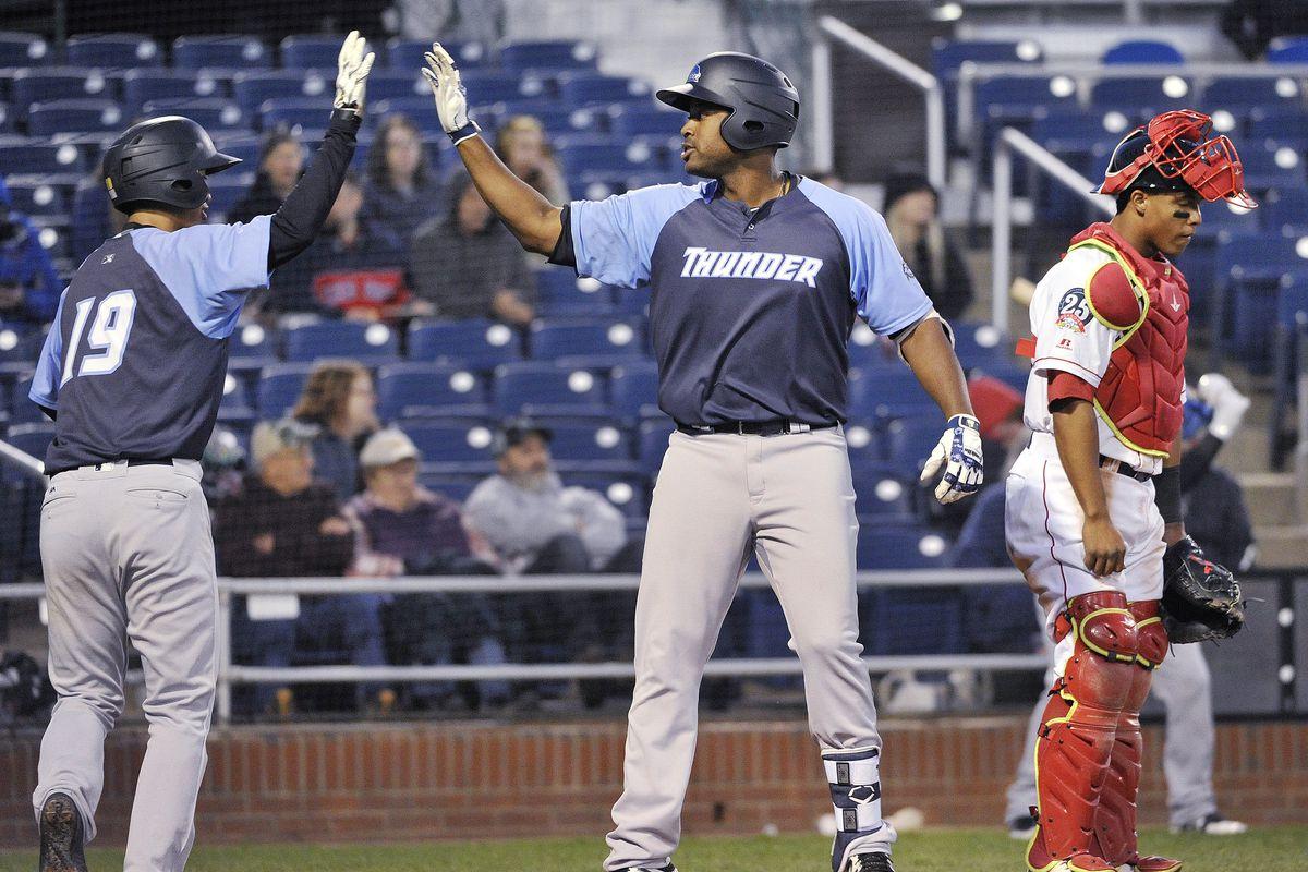Sea Dogs vs. Trenton Thunder AA baseball