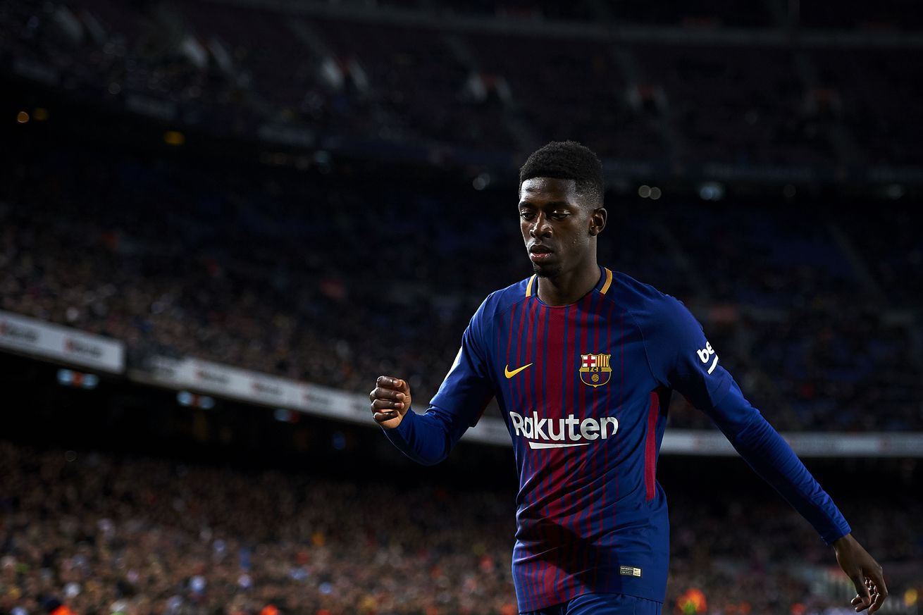 Ernesto Valverde plays down Ousmane Dembele injury concerns after Barcelona win