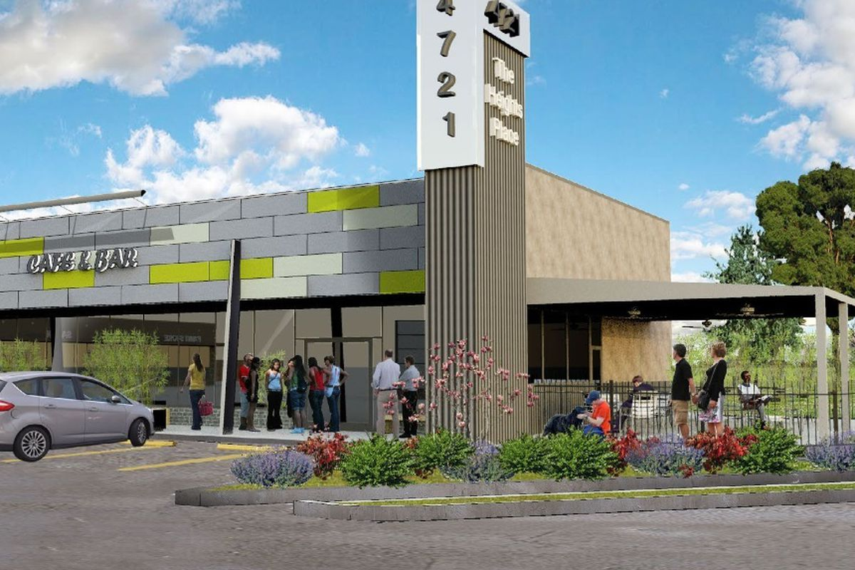 A rendering of The Heights Place at 4721 N. Main.