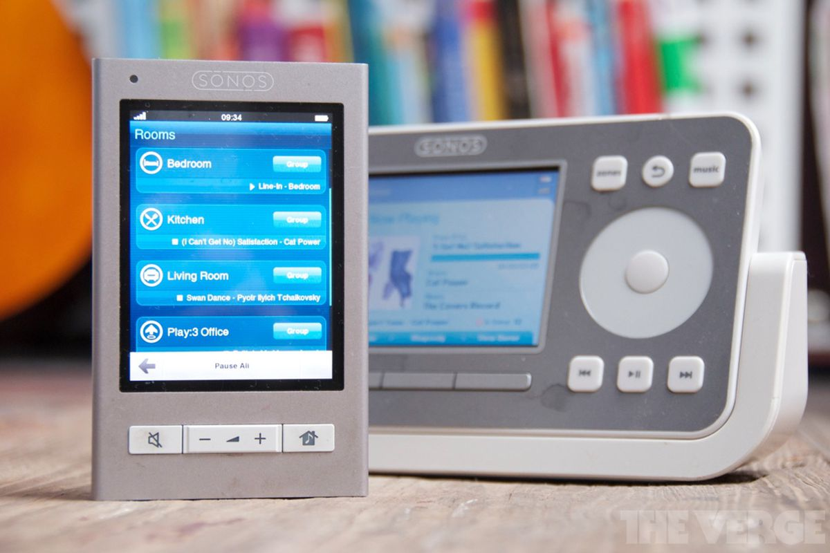 sonos hardware controller killed by smartphones the verge. Black Bedroom Furniture Sets. Home Design Ideas