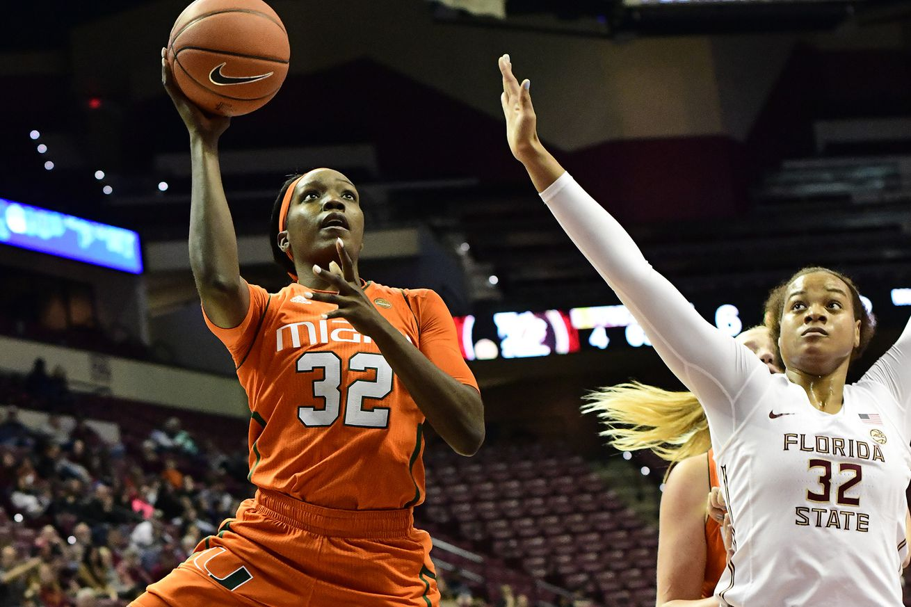 COLLEGE BASKETBALL: JAN 31 Women's Miami at Florida State