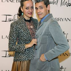 Isabel Toledo and Ruben Toledo attend the in store event at the Lane Bryant on September 25, 2014 in Chicago, Illinois. (Photo by Tasos Katopodis/Getty Images for Lane Bryant)