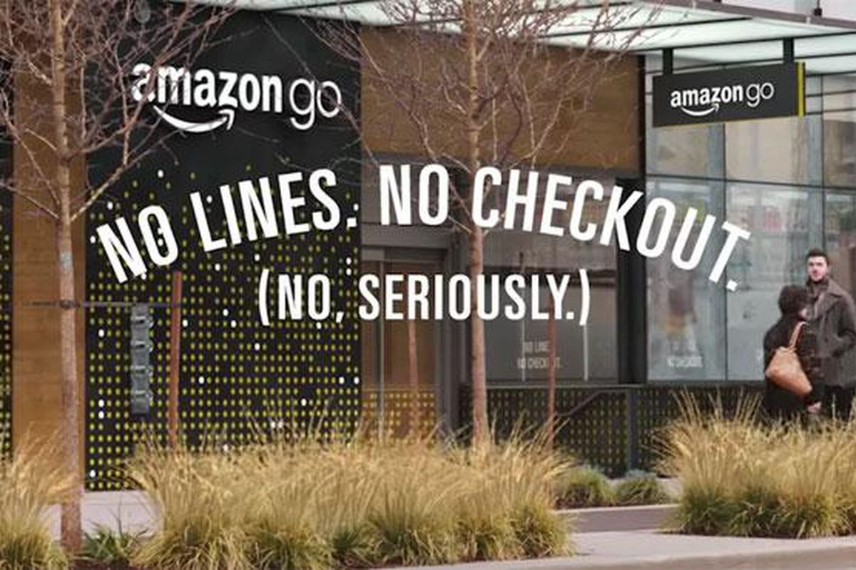 Amazon Just Launched A Cashierfree Convenience Store The Verge - Invoice to go free online clothing stores for men