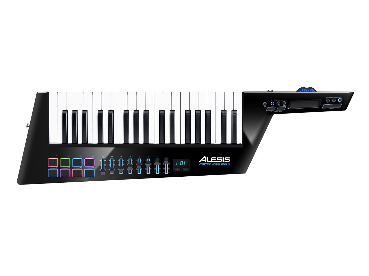It's 2018 and Alesis has debuted a new wireless keytar - The Verge