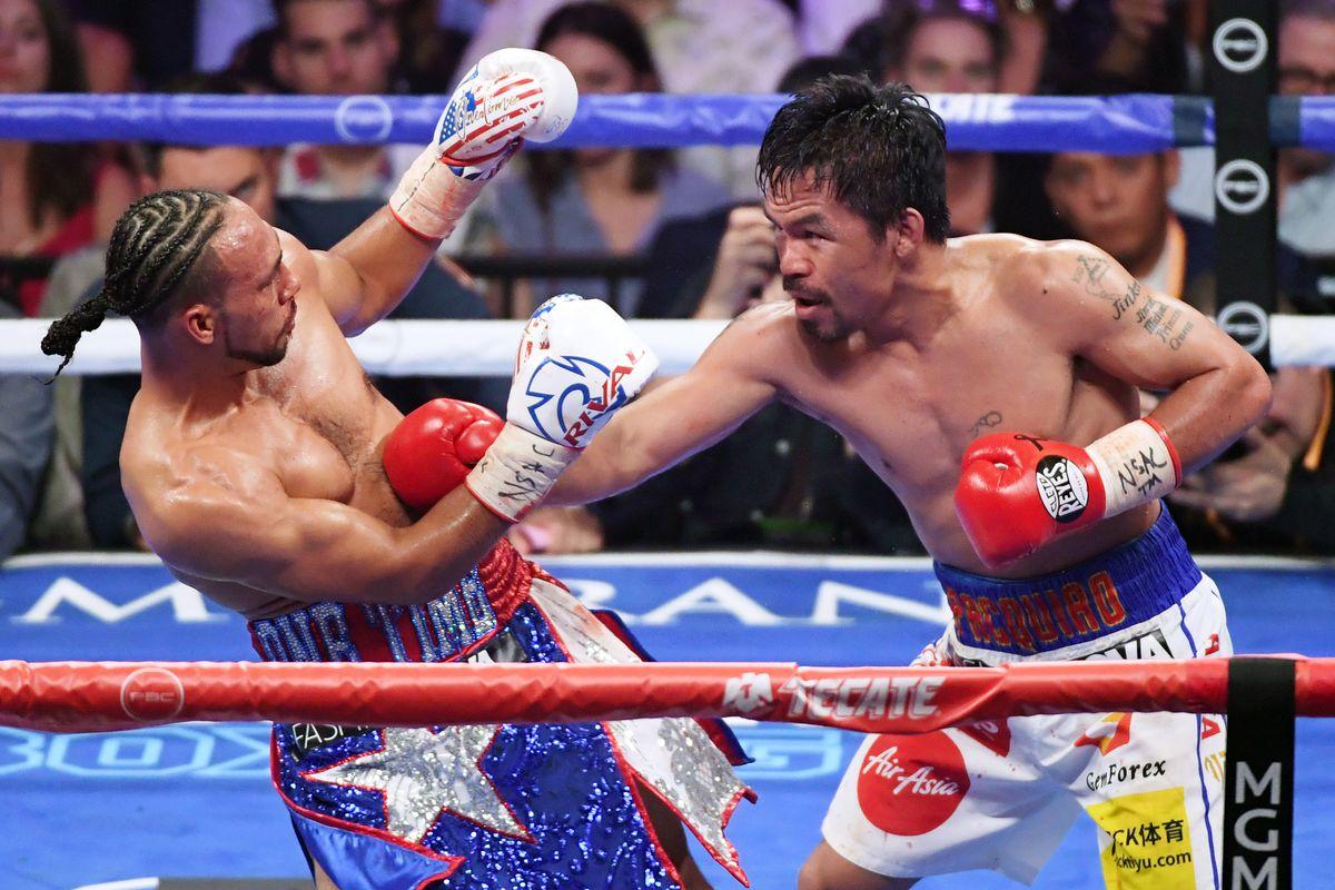 Chuyên gia quyền anh phản ứng với chiến thắng lớn của Manny Pacquiao trước Keith Thurman - Cú móc trái xấu
