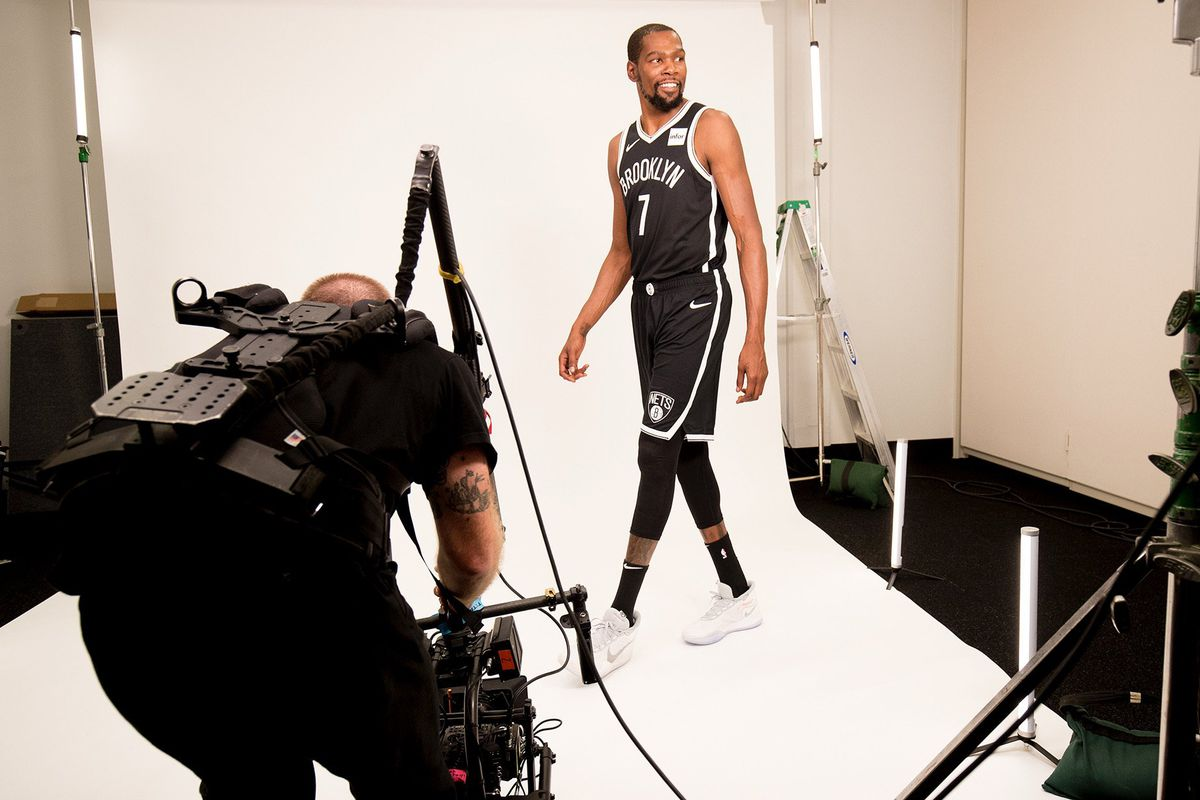 PROOF! Kevin Durant is a Brooklyn Net