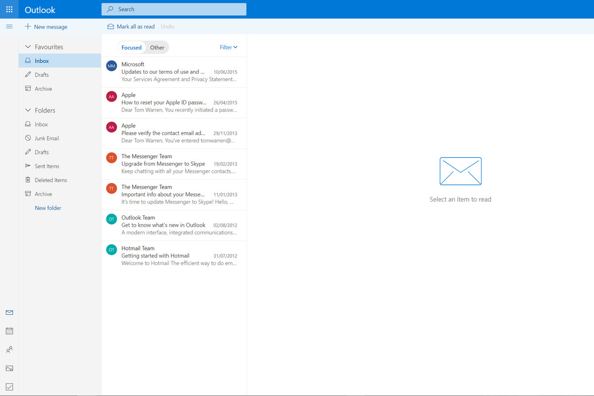 How to get the new Outlook.com design right now