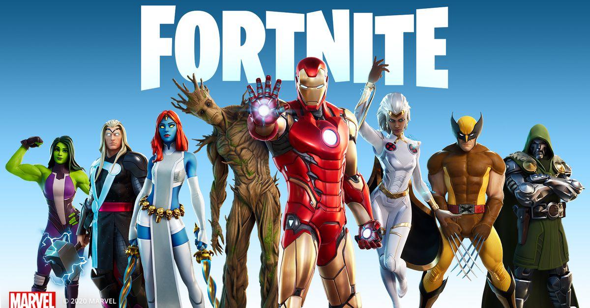 Fortnite Chapter 2 Season 4 Battle Pass All Marvel Skins Newsopener