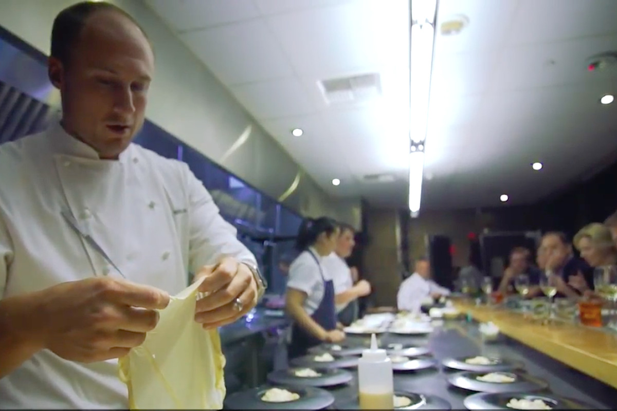 Test Kitchen Chef Wolfgang Puck's Exclusive Test Kitchen Dining Experience Is