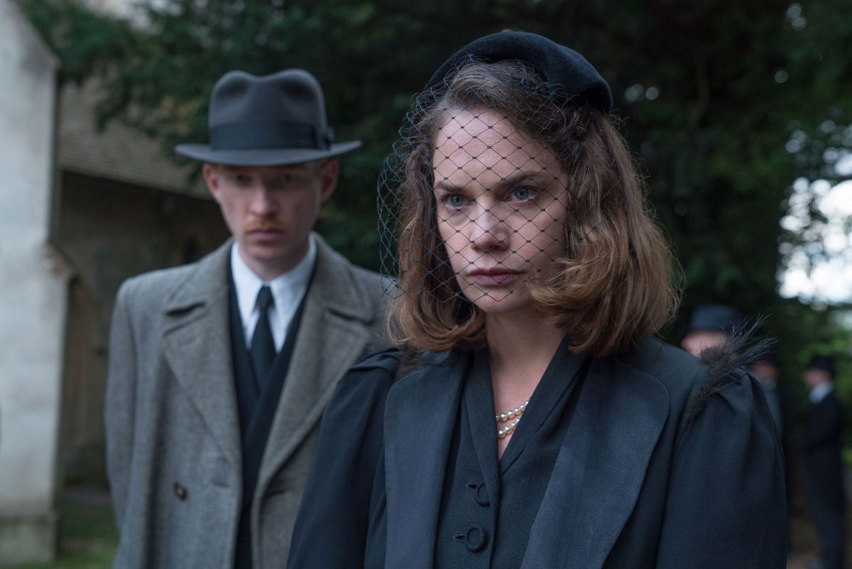 Domnhall Gleeson and Ruth Wilson star in The Little Stranger.