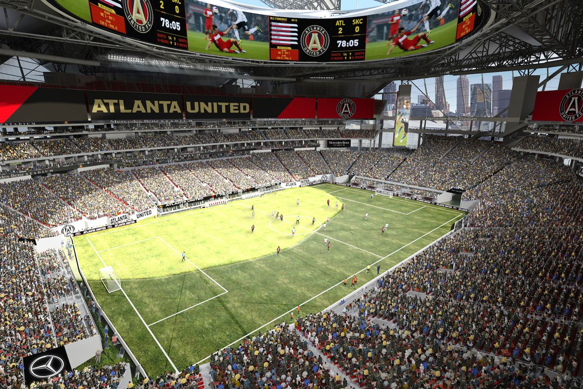 Mercedes-Benz Stadium games will be played without fans ...