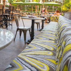 More looks at the patio at Culinary Dropout. Photo by Susan Stapleton