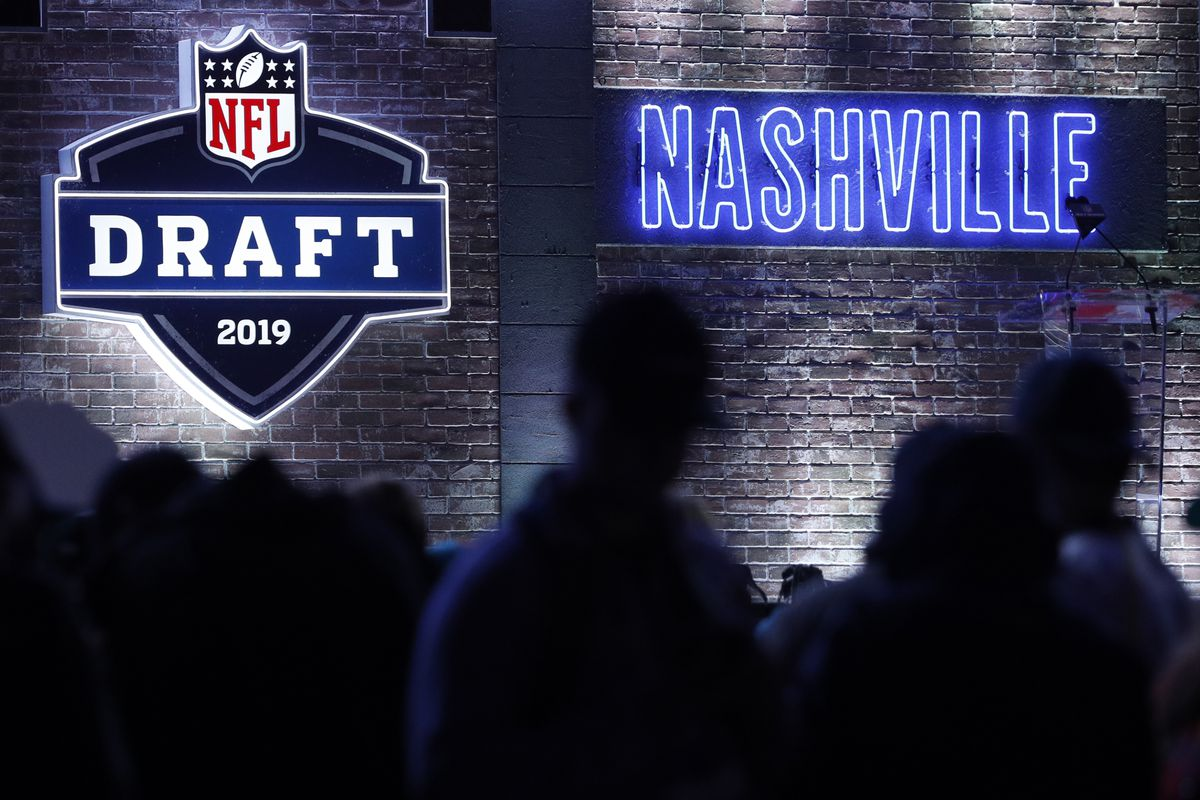 The 2019 NFL Draft stage, Apr. 25, 2019.