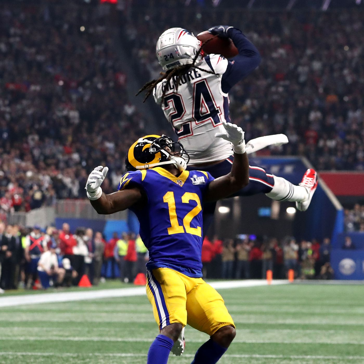 Does Stephon Gilmore get fewer flags with New England Patriots than he did  with Buffalo Bills  d66c8fd708bd