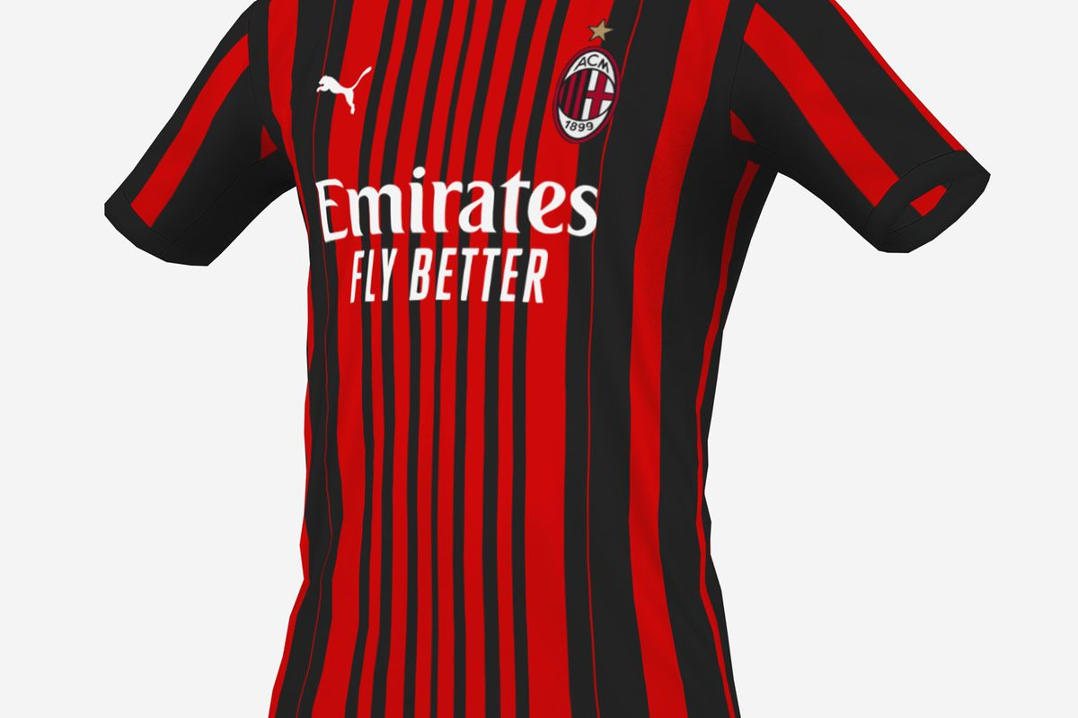 LEAKED: New Mock Ups For AC Milan's 2021/22 Home Shirt Surface ...
