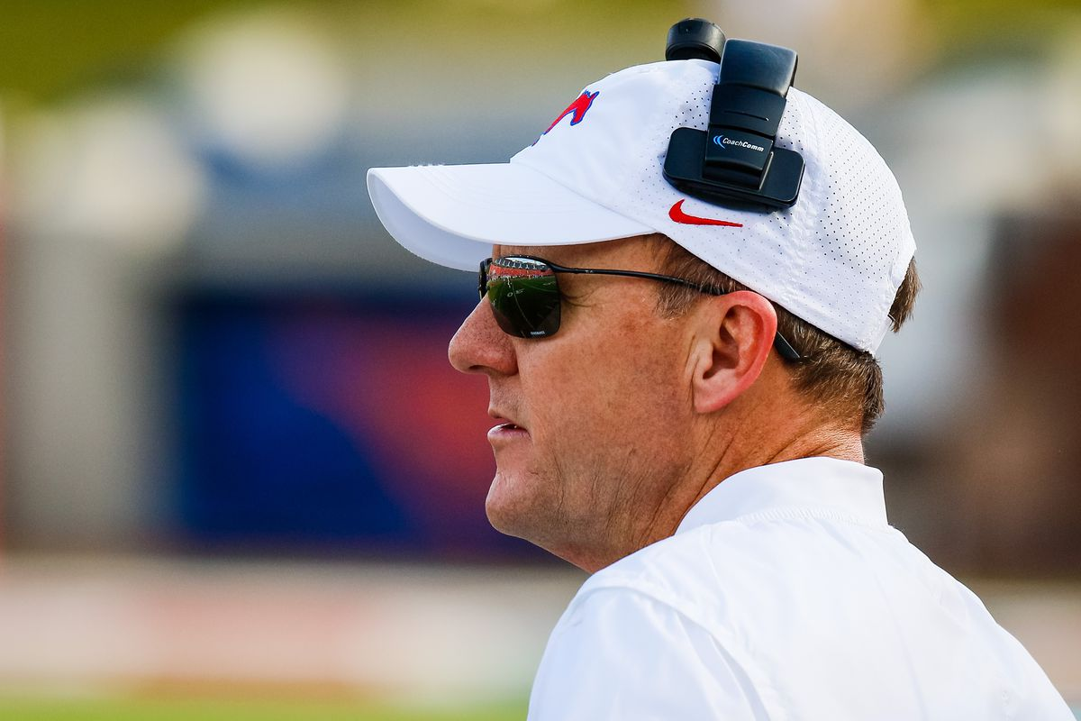NCAA Football: Connecticut at Southern Methodist