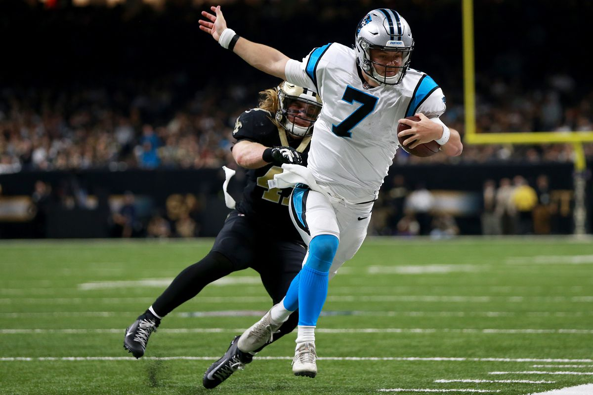 Panthers go from three point favorite to 2.5 point underdog vs Cardinals