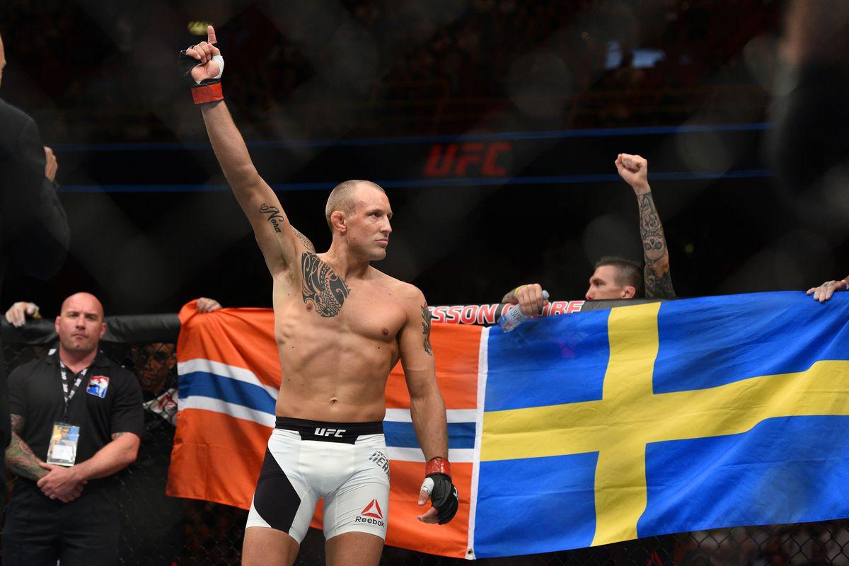 MMA: UFC Fight Night-Hermansson vs Nicholson