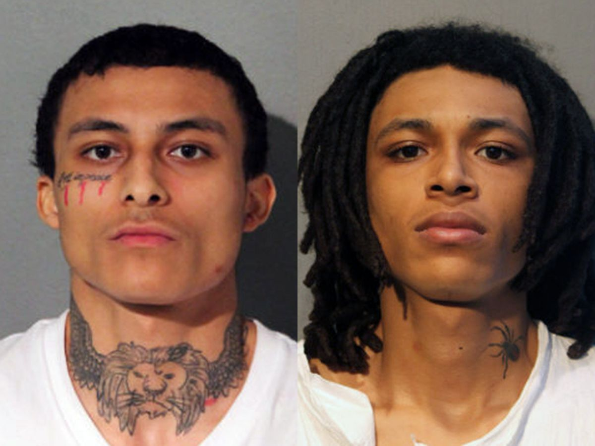 Emonte Morgan, left, and Eric Morgan are charged in the fatal shooting of Chicago Police Officer Ella French.