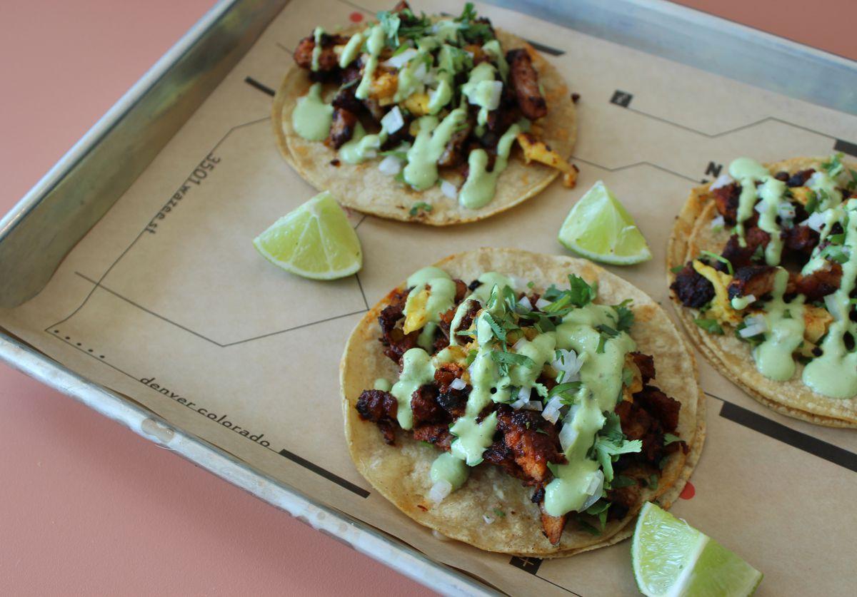 Tacos at La Doña