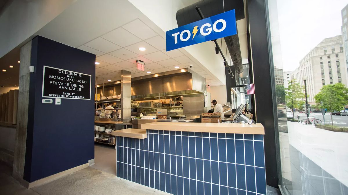 D C Restaurants Add Takeout Windows And Counters To Attract