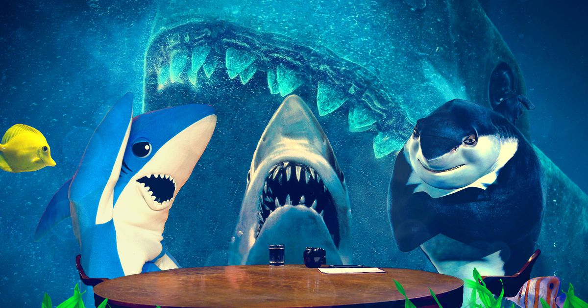 Shark 'The Movie From Shark Meg' Roundtable the Joins The