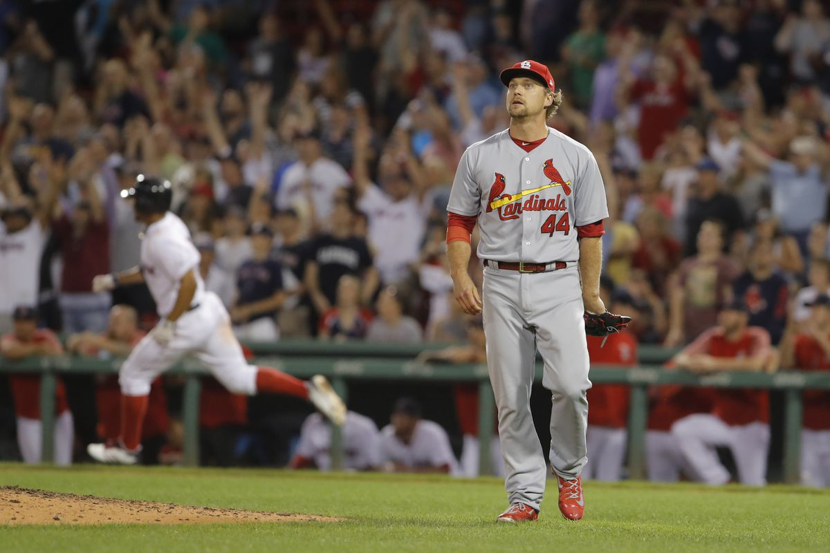 MLB: St. Louis Cardinals at Boston Red Sox