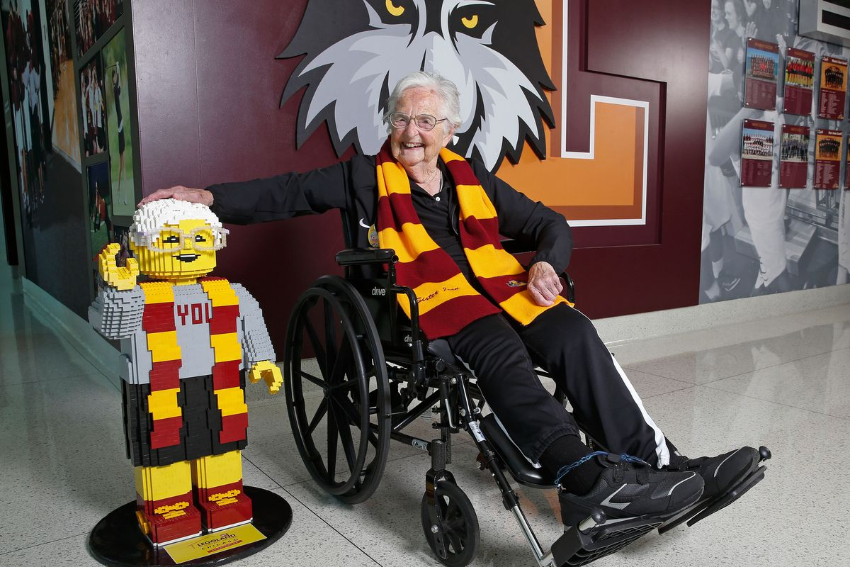 Lego honors Sister Jean with lookalike statue for her 100th birthday