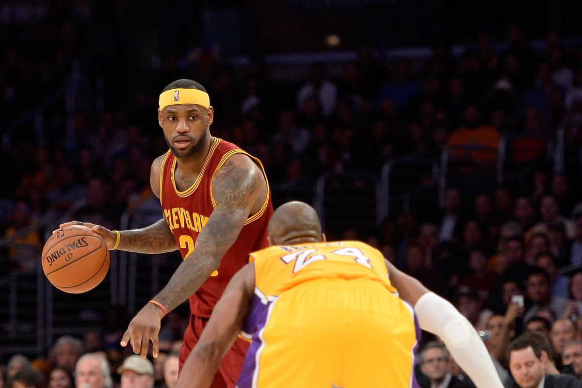 Lebron james credits kobe bryant for forcing him to work harder harry howgetty images nvjuhfo Gallery