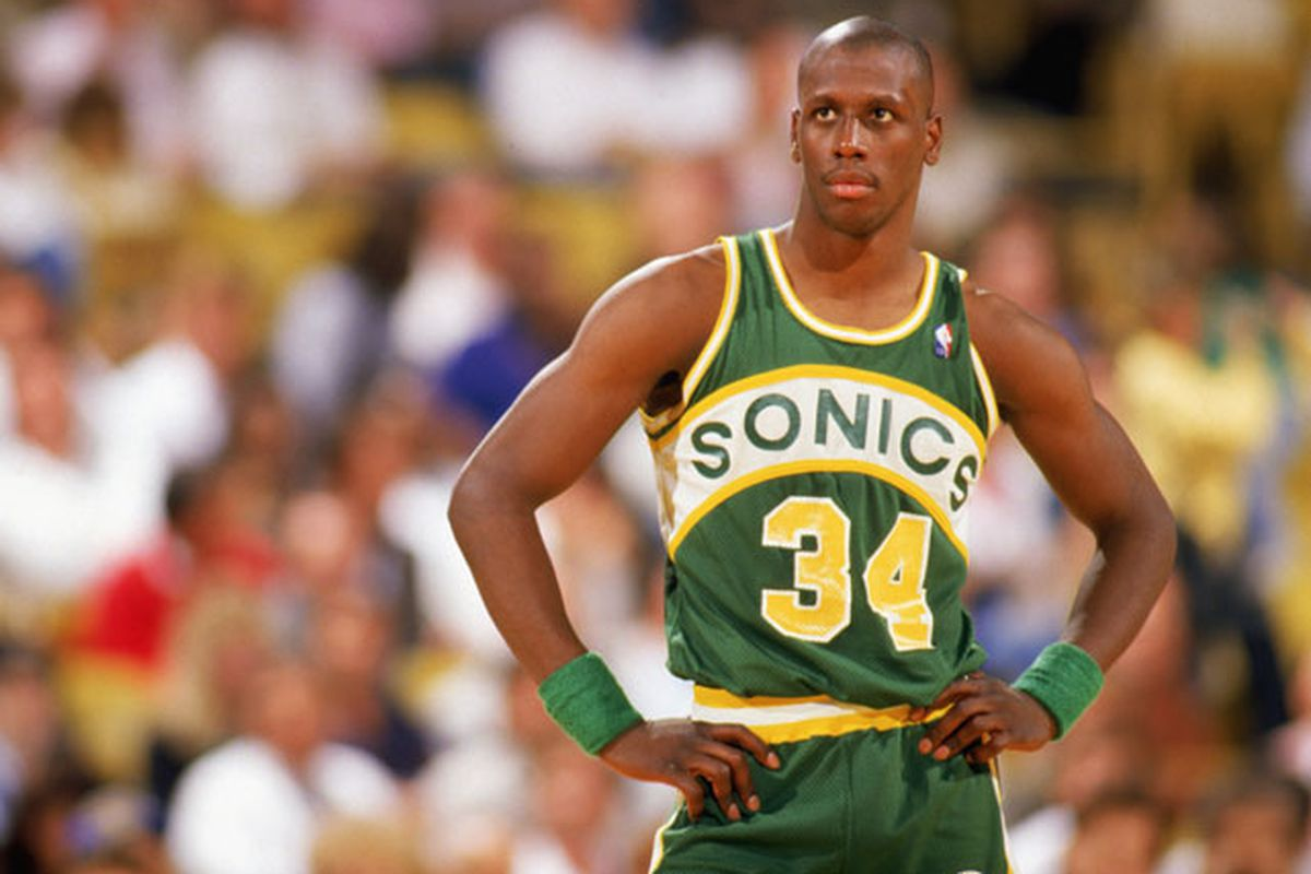 Greatest of All Time 1988 Seattle Supersonics Sonics Rising