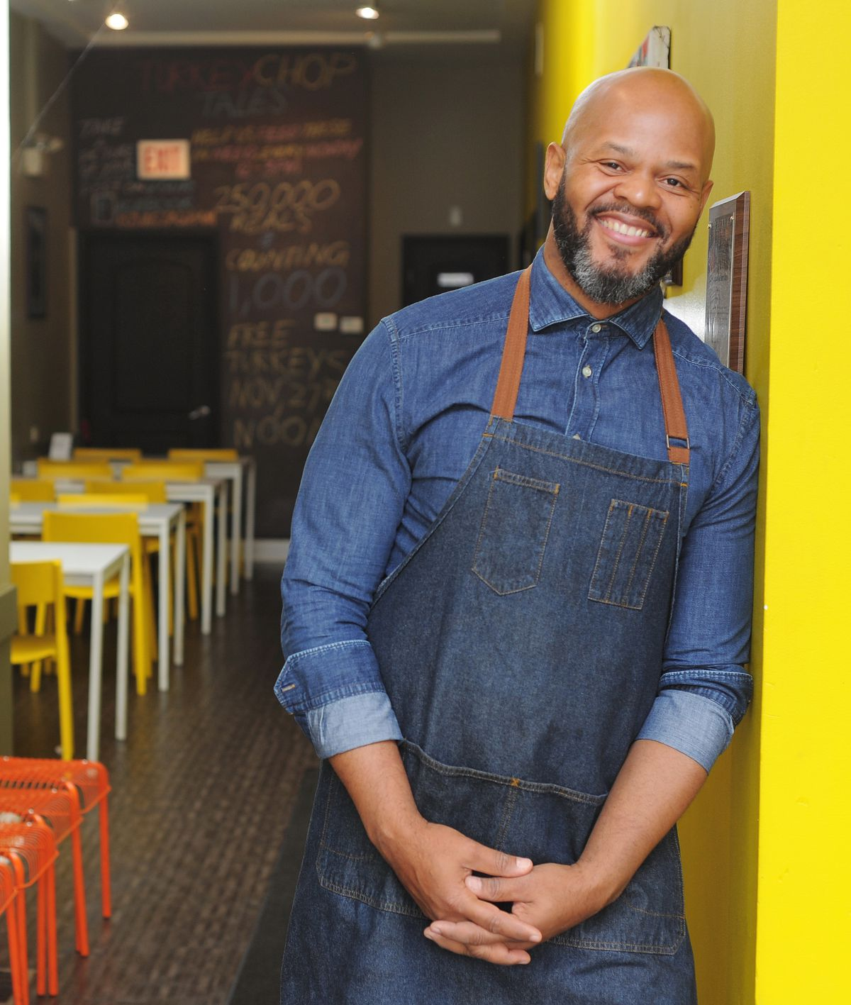 Over the past four years, Chicago Chef Quentin Love has given away 250,000 free meals, more than 7,000 turkeys at Thanksgiving and $25,000 worth of toys, scarves, hats and gloves to area residents in need.