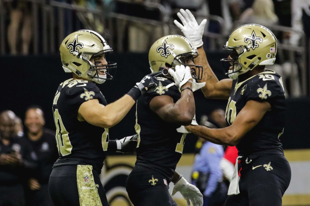 NFL Week 9 reaction  Michael Thomas answered the Saints  call ... 7dff931ef