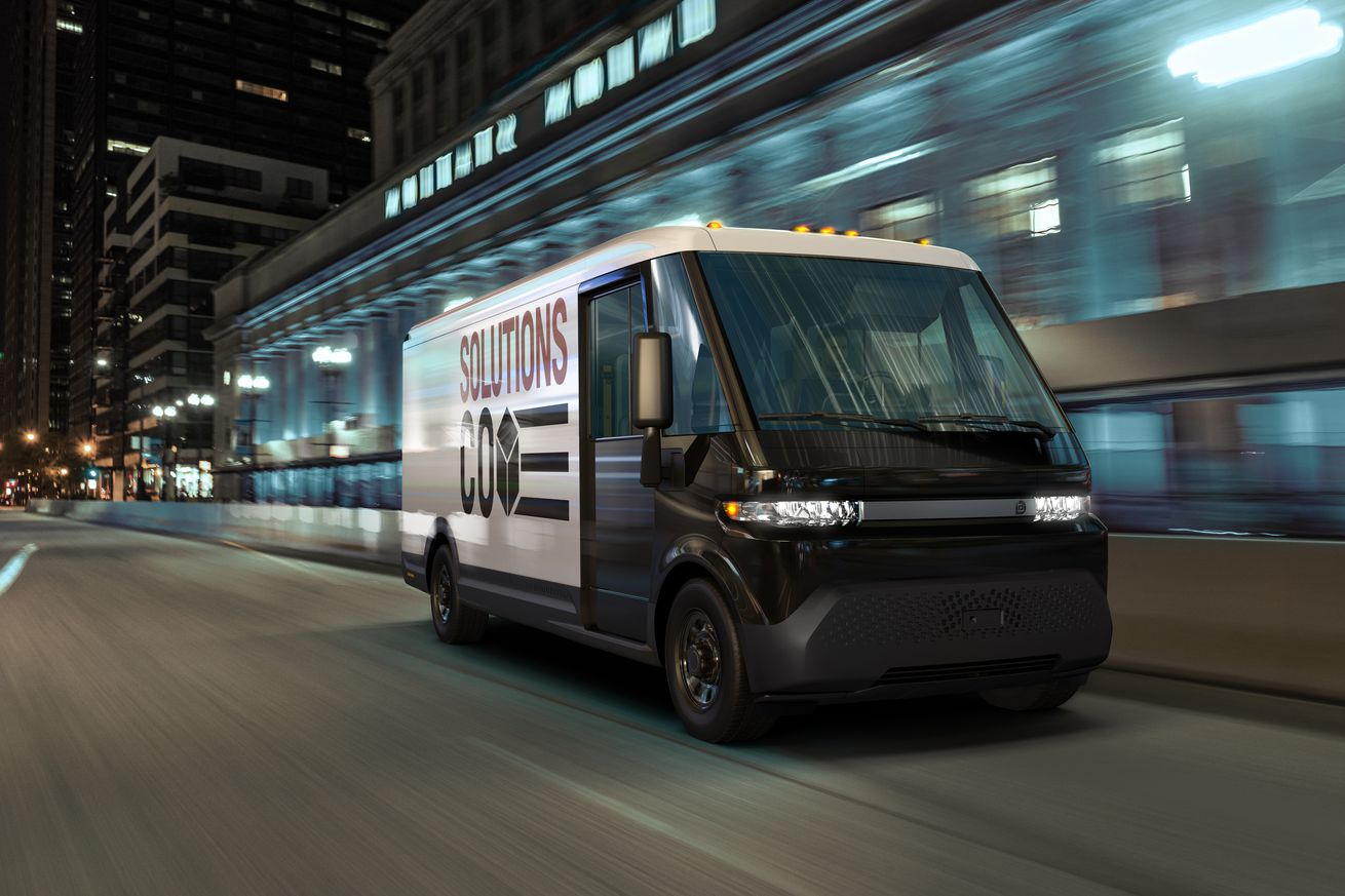GM unveils electric delivery van with 250 miles of range as part of new spinoff business