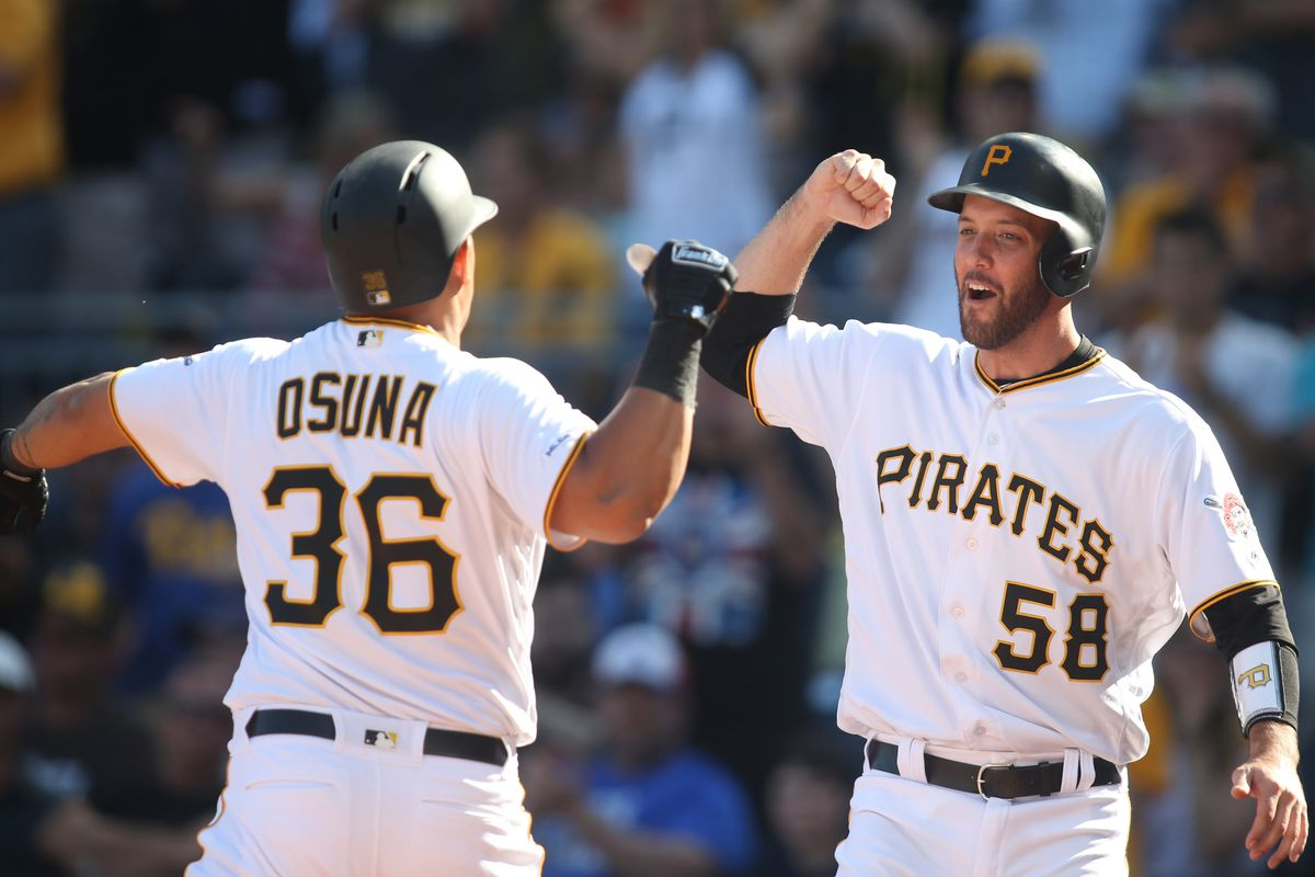 0b98355ba421c5 Pirates storm back for 6-3 win over Padres - Bucs Dugout